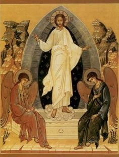 The Resurrection - The ultimate hope of creation. The center of everything I am and do. Religious Images, Religious Icons, Religious Art, Orthodox Catholic, Oldest Bible, Church Icon, Christ Is Risen, Religious Paintings, Byzantine Icons