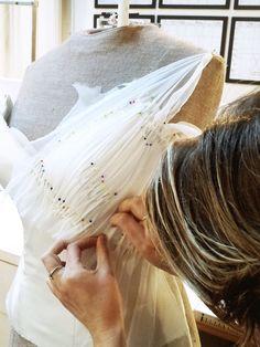 Hillenius Couture Chiffon Corset Wedding Dresses Bridal Fashion Bruiden trouwjurken