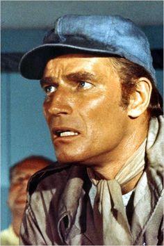 Soleil vert : photo Charlton Heston, (Richard Fleischer), 1974.