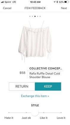 Stitch Fix Fall, Cold Shoulder Blouse, Bell Sleeve Top, Collection, Tops, Women, Style, Fashion, Swag