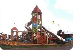 In 1996 Playdale won the Gold Award for the 'Everest' tower unit, Windsor Windsor, Playground, This Is Us, Tower, The Unit, History, Outdoor Decor, Gold, Children Playground