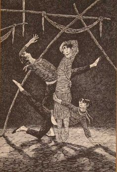 Illustration © Edward Gorey, Edward Gorey Charitable Trust.