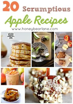 20 Scrumptious Apple Recipes for the Fall! This is a great collection of apple treats!
