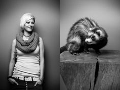 Adorable Portraits of Pets and Their Owners