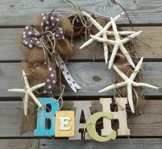 Beach Wreath by TheBeachyCottage on Etsy