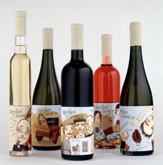 When it comes to a good wine packaging design, guess no one would argue the fact that a label for the bottle holds equal importance to the wine inside. Wine Bottle Design, Wine Label Design, Wine Bottle Labels, Beer Label, Wine Bottles, Bourbon, Sweet Wine, Wine Brands, Bottle Packaging