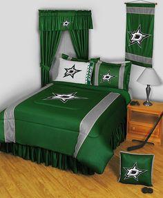 Dallas Stars NHL Bed In A Bag Set
