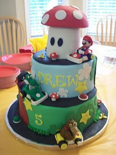 I think any one of my kids would love this as a birthday cake