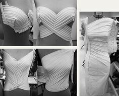 Draping and Moulage | The Cutting Class. Details of draping and moulage found…