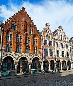 Maisons anciennes à Arras - Pas de Calais 1467