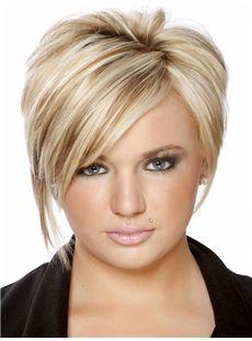 Glossary Short Straight Capless Human Hair Wigs