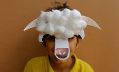 Make a sheep mask for Chinese New Year - Kidspot Chinese New Year Kids, Chinese New Year Activities, Chinese New Year Crafts, New Years Activities, Craft Activities For Kids, Preschool Crafts, Kids Crafts, Animal Crafts For Kids, Toddler Crafts