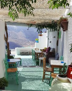 Peaceful atmosphere ... Unique Amorgos island, Greece