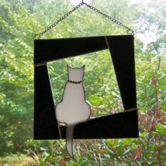 Kitty Window Stained Glass