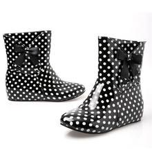 Polka Dot Rain Booties  - Polka Dotted All The Things Boutique - SHOP NOW