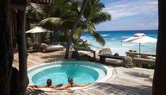 An unspoilt & idyllic tropical haven on the Seychelles' secluded North Island, Villa 11 delivers the quintessential beach honeymoon experience. Seychelles Hotels, Les Seychelles, Seychelles Honeymoon, Seychelles Islands, George Clooney, Pretoria, Beach Honeymoon Destinations, Honeymoon Ideas, Romantic Honeymoon