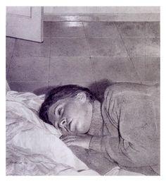 Giovanni Iudice, Ragazza che dorme, 1999.