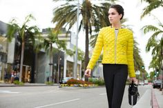 Fay City Diaries: an endless adventure in Los Angeles. Women's Spring - Summer 2014 Down Jacket.