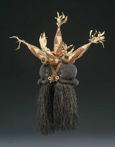 Salampasu Mufuampo Mask, DR Congo African Masks, African Art, Statues, Art Premier, Head Mask, African Tribes, Masks Art, Soul Art, Beautiful Mask
