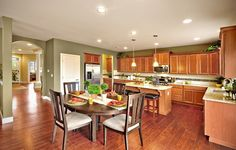 Would you like to cook dinner in this open kitchen from @lennarseattle?