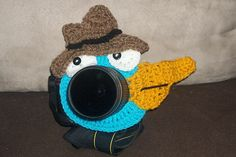 Ravelry: Platypus Lens Critter pattern by Cyndi Hughes