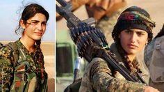 Muere la 'Angelina Jolie' kurda en combate contra Estado…