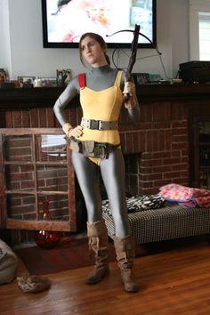 Scarlett from GI Joe cosplay