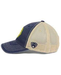 Top of the World Michigan Wolverines Wicker Mesh Cap - Blue Adjustable