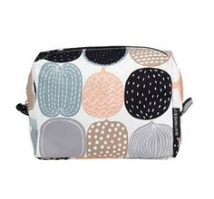 Kompotti make up bag large - beige - Marimekko