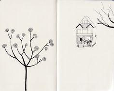 a pen and a notebook : Lisbel Gavara