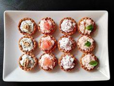 Tartaletas para aperitivos   Caceroladas