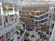 Pentagon City Mall: The Fashion Centre at Pentagon City, located just moments from the nation's capital, and on the Washington DC Metro system, offers a world-class shopping