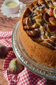 Chocolate Caliente, Sweet Recipes, Bakery, Fruit, Ethnic Recipes, Desserts, Food, Fig Cake, Fig Bread