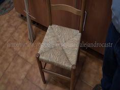 Trenzado de anea con sillas 2.2 parte