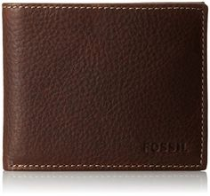 Fossil Men's Lincoln Bifold Wallet, Brown, One Size * You can get additional details at