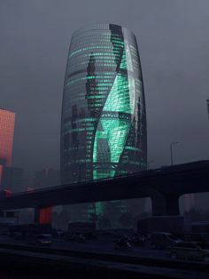 Construction is well underway on a 207-metre skyscraper by Zaha Hadid Architects in Beijing, which will feature a huge twisting atrium that is expected to be the world's tallest