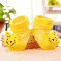 0-12 Month's Cute 3D Baby Cotton Socks/Shoes