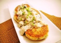 Вкусные картофельные котлетки с соусом Вкусные привычки