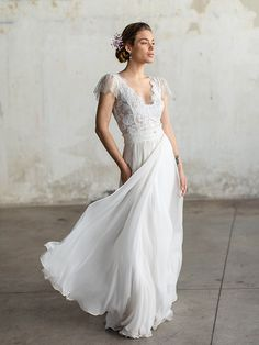 Gorgeous wedding dresses by Katia Delatola - Love4Weddings
