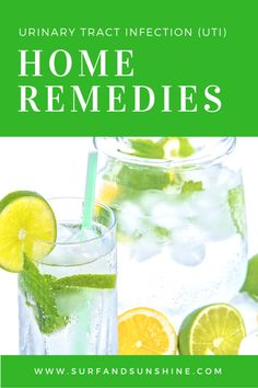 Easy Home Remedies for a Urinary Tract Infection (UTI) #health