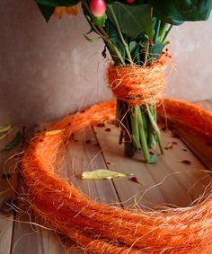 Wired Orange Sisal Twine - 10 Meters Sisal Twine, Sisal Rope, Lace Decor, Beaded Trim, Packaging Ideas, Table Covers, Tool Design, Event Decor, Harvest