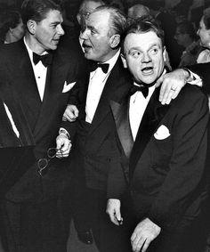 James Cagney, Pat O'Brien, Ronald Reagan