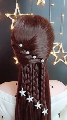 You should try new hairstyles in 2019 Neue Frisuren sollten Sie 2019 ausprobieren You should try new hairstyles in 2019 Braided Hairstyles, Cool Hairstyles, Wedding Hairstyles, Popular Hairstyles, Hairstyle Ideas, Middle Hairstyles, Curly Hair Styles, Natural Hair Styles, Hair Designs