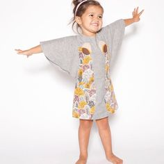 Fall/Winter 2014 preview!! Arriving at a store near you this August, our Traveling Circus dress in organic cotton & linen. #elephants #fallfashion #kidsfashion #decafplush
