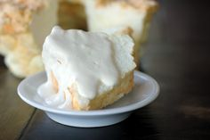 Low-carb angel food cake