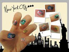New York City nail art!