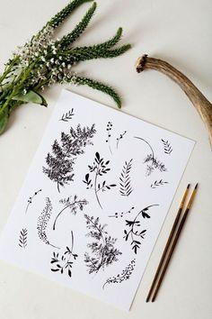 lavendar drawings