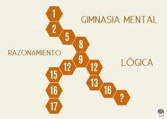 Razona y completa la serie de números #entrenatumente
