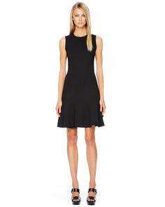 Michael Kors Flare-Skirt Dress.