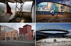 With just days to go for the Rio Olympics, we take a look at what's happened to some former Olympic venues and sites.